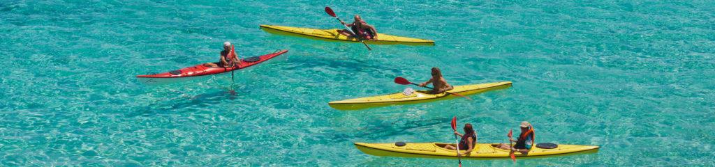Kayak al Giglio