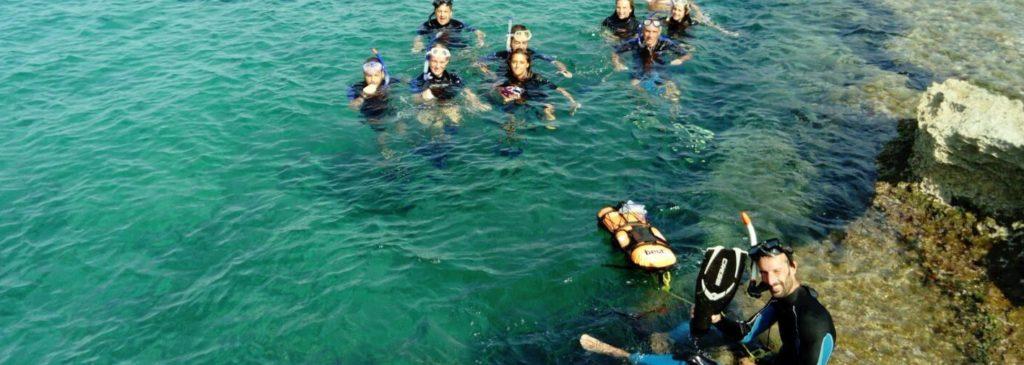 snorkeling nel parco nazionale arcipelago toscano