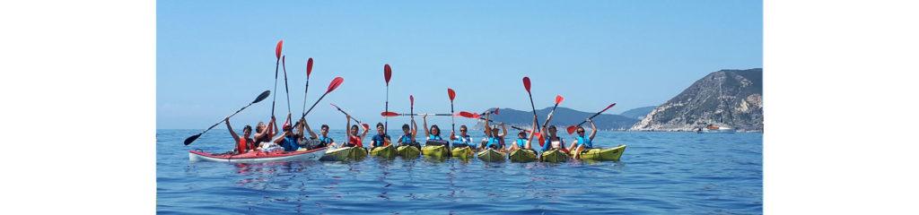 Weekend avventura Elba in kayak