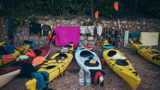 Giro dell'isola d'Elba in kayak