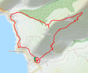 weekend trekking elba