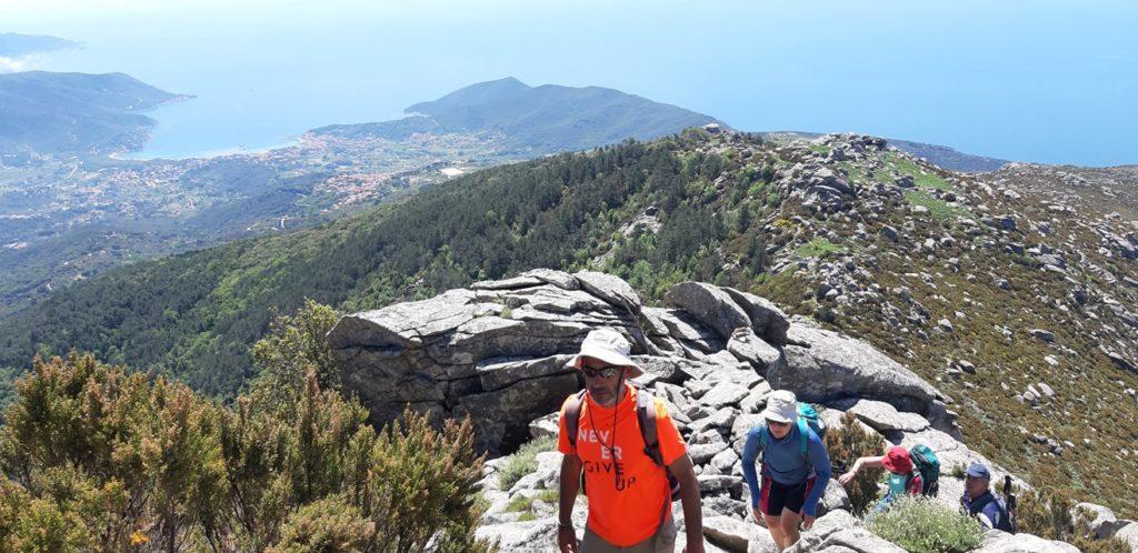 trekking sul monte capanne