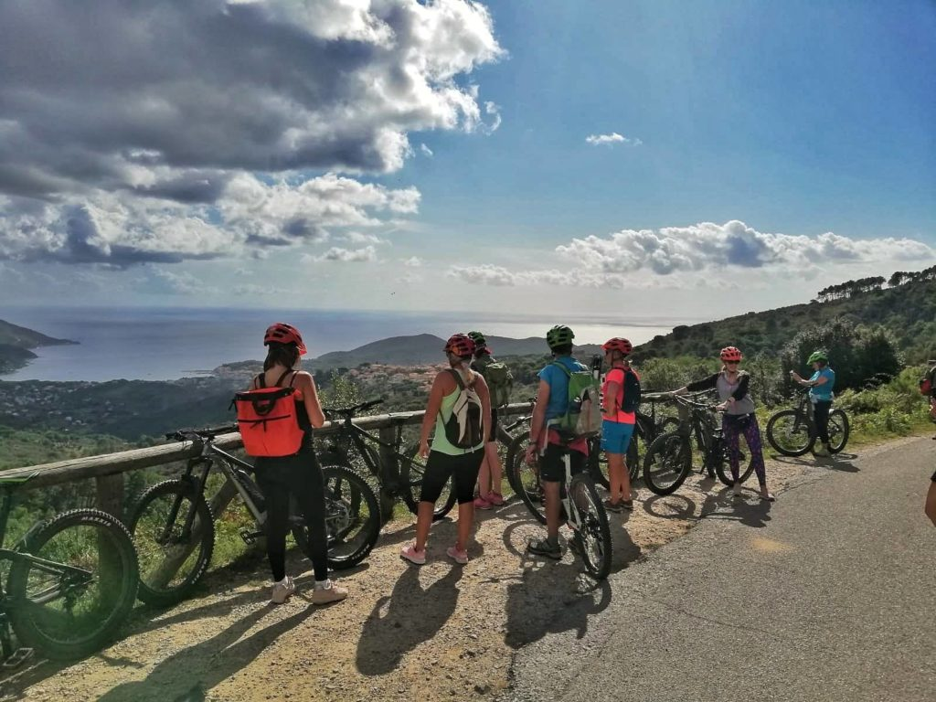 weekend vela e E-bike al Giglio